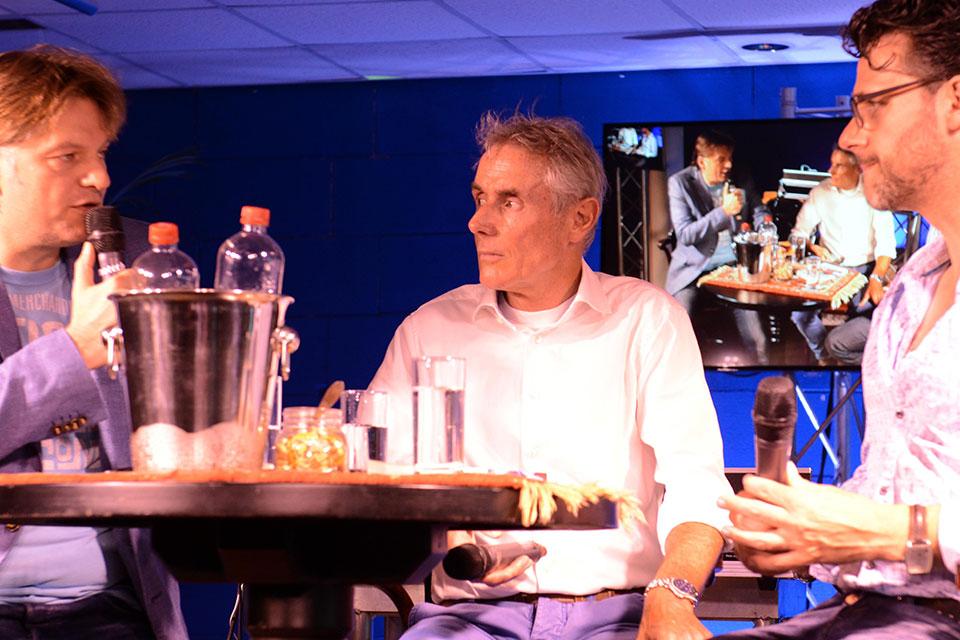 Wielercafé Met Ex-wielerprofs Eddy Planckaert En Joost Posthuma